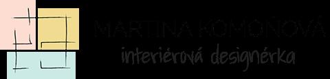Martina Komoňová - interiérová designérka